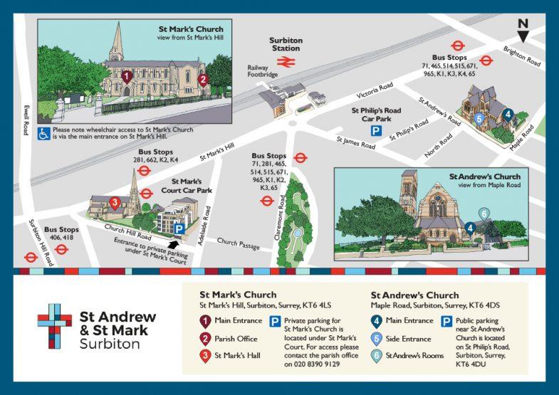 St Andrew's & St Mark's Surbiton